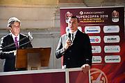 proli<br /> presentazioe supercoppa 2018<br /> Legabasket Serie A 2018/19<br /> Brescia, 24/09/2018<br /> Ciamillo-Castoria