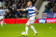 Queens Park Rangers defender Toni Leistner (37) during the EFL Sky Bet Championship match between Queens Park Rangers and Brentford at the Kiyan Prince Foundation Stadium, London, England on 28 October 2019.