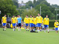 Bristol Rovers players return for pre season training  - Photo mandatory by-line: Joe Meredith/JMP - Tel: Mobile: 07966 386802 24/06/2013 - SPORT - FOOTBALL - Bristol -  Bristol Rovers - Pre Season Training - Npower League Two