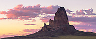Sunset, Agathla Peak (El Capitan) near Kayenta, Arizona