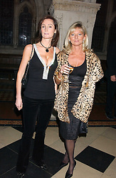 Left to right, ALEX DOUGLAS-HOME and the JOANNE, COUNTESS OF BRADFORD at Andy & Patti Wong's annual Chinese New Year party, this year celebrating the year of the dog held at The Royal Courts of Justice, The Strand, London WC2 on 28th January 2006.<br /><br />NON EXCLUSIVE - WORLD RIGHTS