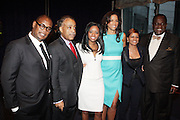 14 April 2010- New York, NY- l to r: Andre Harrell, Rev. Al Sharpton, Tamika Mallory, Veronica Webb, Rachel Noerdlinger, and Rev. Dr. Franklyn Richardson at the Executive Director's Reception hosted by Veronica Webb and Andre Harrell and held at The Central Park East Ballroom, Sheraton New York Hotel on April 14, 2010 in New York City.