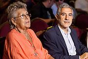 Pilar Bardem and Gaspar Llamzares