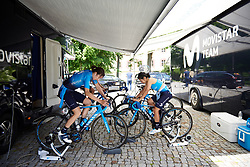 Movistar Women's Team at Lotto Thüringen Ladies Tour 2019 - Stage 5, a 17.9 km individual time trial in Meiningen, Germany on June 1, 2019. Photo by Sean Robinson/velofocus.com