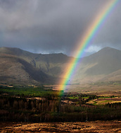 Rainbow in Kerry, on the westcoast of Ireland
