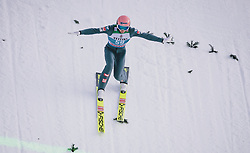 31.12.2019, Olympiaschanze, Garmisch Partenkirchen, GER, FIS Weltcup Skisprung, Vierschanzentournee, Garmisch Partenkirchen, Qualifikation, im Bild Daniel Huber (AUT) // Daniel Huber of Austria during his qualification Jump for the Four Hills Tournament of FIS Ski Jumping World Cup at the Olympiaschanze in Garmisch Partenkirchen, Germany on 2019/12/31. EXPA Pictures © 2019, PhotoCredit: EXPA/ JFK