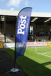Bristol Rovers , The Post - Photo mandatory by-line: Neil Brookman/JMP - Mobile: 07966 386802 - 11/04/2015 - SPORT - Football - Bristol - Memorial Stadium - Bristol Rovers v Southport - Vanarama Football Conference