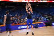 Marco Cusin<br /> Nazionale Italiana Maschile Senior<br /> Eurobasket 2017 - Group Phase<br /> Lituania Italia Lithuania Italy<br /> FIP 2017<br /> Tel Aviv, 03/09/2017<br /> Foto M.Ceretti / Ciamillo - Castoria