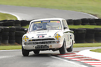 HSCC Gold Cup Oulton Park, Cheshire, United Kingdom.  28th-29th August 2011.  Race 11 HSCC ByBox Historic Touring Cars.  38 Steve Shuttleworth - Ford Lotus Cortina. World Copyright: Peter Taylor/PSP. Copy of publication required for printed pictures. Every used picture is fee-liable.