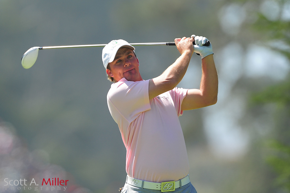 Nicholas Thompson during the second round of the 112th U.S. Open at The Olympic Club on June 15, 2012 in San Fransisco. ..©2012 Scott A. Miller