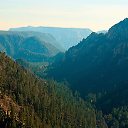 Beautiful view of Oak Creek Canyon, Arizona