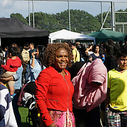 London, UK. 4th August 2017. Cllr Aleen Alarice attends The 6th annual LATIN American Carnival Newham. A Latin American summer festival party with live music, delicious food & drinks and barbecue of Latino community and to show the vibrant of Latin culture at West Ham.