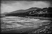The north end of Inch beach, looking westwards towards Dingle - Dingle Peninsular.