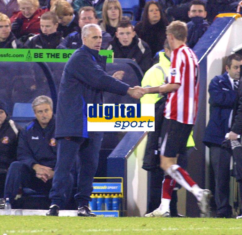Photo: Dave Linney.<br />West Bromwich Albion v Sunderland. The Barclays Premiership. 21/01/2006.Sunderland  Mgr Mick McCarthy