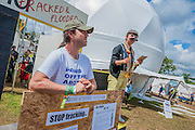 The 2014 Glastonbury Festival, Worthy Farm, Glastonbury. 27 June 2013.  Guy Bell, 07771 786236, guy@gbphotos.com