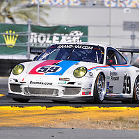 Brumos Racing competing in the Rolex 24 at Daytona 2011