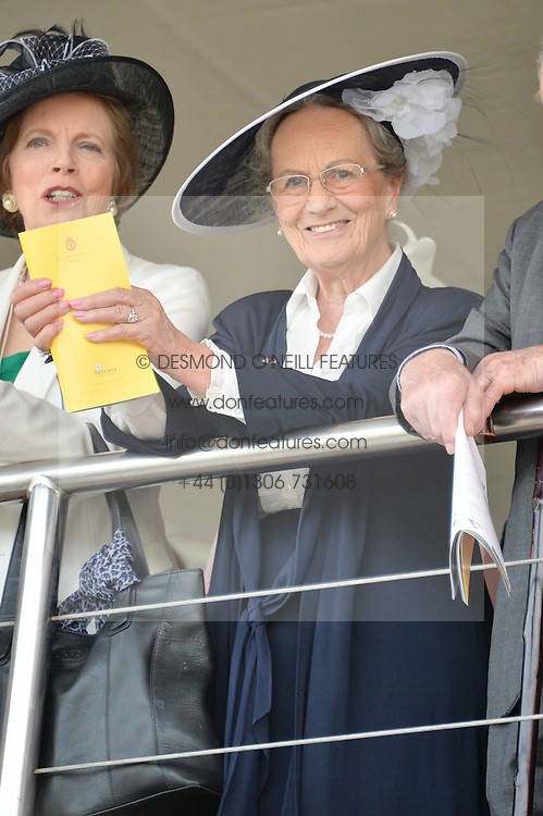 The DUCHESS OF RICHMOND at the 2014 Glorious Goodwood Racing Festival at Goodwood racecourse, West Sussex on 31st July 2014.