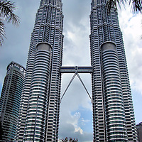 Petronas Twin Towers in Kuala Lumpur, Malaysia<br />