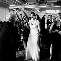 Dancing at a Kirkland wedding near Seattle.