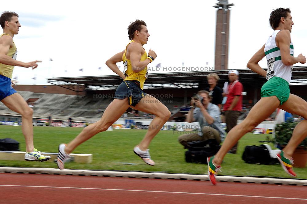 09-07-2006 ATLETIEK: NK BAAN: AMSTERDAM<br /> Bram Som<br /> &copy;2006-WWW.FOTOHOOGENDOORN.NL