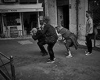 Street Photographers or Poparazzi. Image taken with a Leica CL camera and 23 mm f/2 lens (ISO 200, 23 mm, f/4, 1/400 sec).