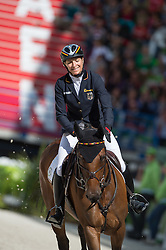 Ingrid Klimke, (GER), FRH Escada JS - Jumping Eventing - Alltech FEI World Equestrian Games™ 2014 - Normandy, France.<br /> © Hippo Foto Team - Jon Stroud<br /> 31-08-14