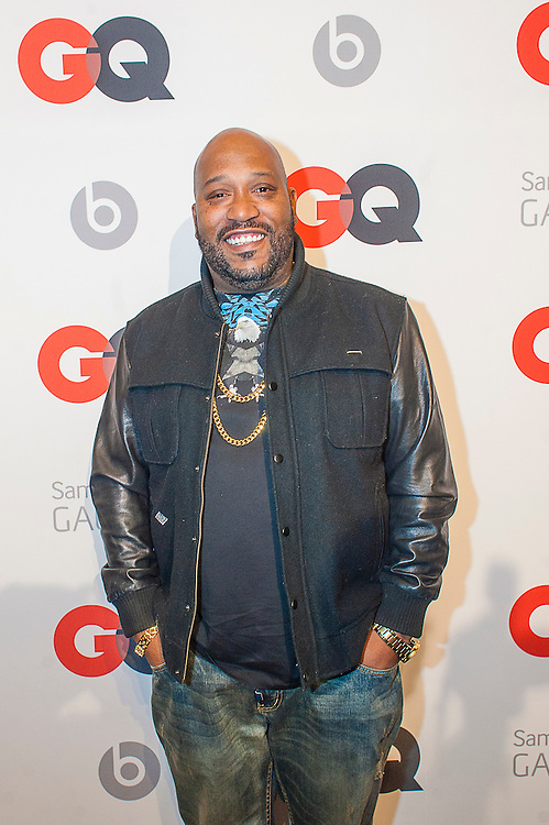 Rapper Bun B posing at the GQ & Lebron James NBA All Star Style party sponsored by Samsung Galaxy on Saturday, February 15, 2014, at the Ogden Museum of Southern Art in New Orleans, Louisiana with live jam session from grammy Award-winning Artist The Roots. Photo Credit: Gustavo Escanelle / Retna Ltd.