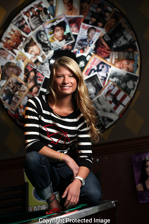 Mixologist Ashley Cannistraci at Kickstand Pub.(Jodi Miller/Alive)