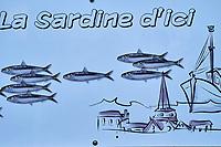 France, Vendée (85), Saint-Gilles-Croix-de-Vie, food-truck Le Banc de Sardines // France, Vendée, Saint-Gilles-Croix-de-Vie, sardines food truck