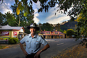 Mitta Mitta, one policeman town. Following the working life of Leading Senior Constable John Kissane. Pic By Craig Sillitoe CSZ/The Sunday Age.27/03/2012  Pic By Craig Sillitoe CSZ / The Sunday Age melbourne photographers, commercial photographers, industrial photographers, corporate photographer, architectural photographers, This photograph can be used for non commercial uses with attribution. Credit: Craig Sillitoe Photography / http://www.csillitoe.com<br /> <br /> It is protected under the Creative Commons Attribution-NonCommercial-ShareAlike 4.0 International License. To view a copy of this license, visit http://creativecommons.org/licenses/by-nc-sa/4.0/.