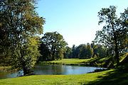 UNESCO-Welterbestätte, Eichsee, Fürst-Pückler-Park, Bad Muskau, Sachsen, Deutschland | UNESCO World Heritage Site, Eichsee, Fürst-Pückler-Park, Bad Muskau, Saxony, Germany