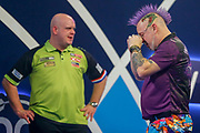 WINNER Peter Wright (Scotland) cries after his win against Michael Van Gerwen (Netherlands) in the final of the PDC William Hill World Darts Championship at Alexandra Palace, London, United Kingdom on 1 January 2020.