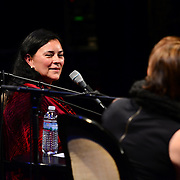 NHPR's Virginia Prescott interviews Diana Gabaldon at The Music Hall, June 3, 2015