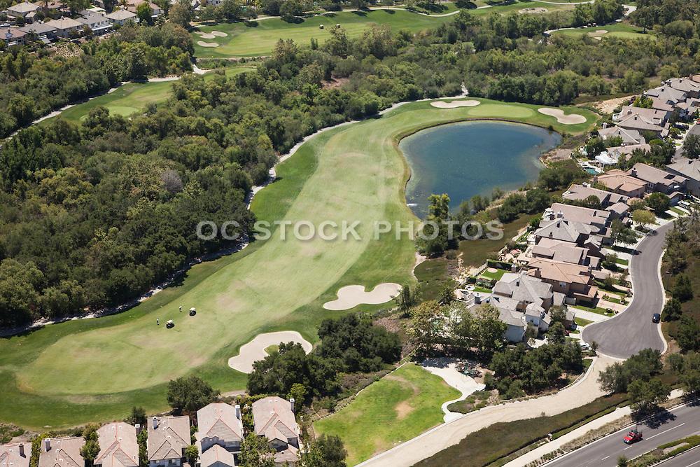 Coto de Caza Aerial Stock Photo