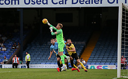 Mark Oxley of Southend United punches clear - Mandatory by-line: Arron Gent/JMP - 24/07/2019 - FOOTBALL - Roots Hall - Southend-on-Sea, England - Southend United v Millwall - pre season friendly