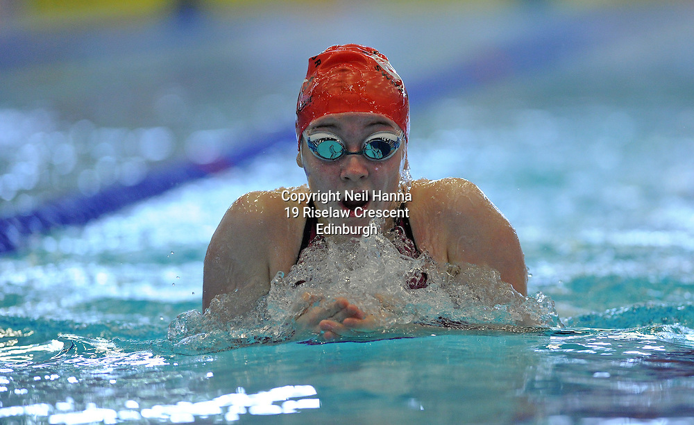 Royal Commonwealth Pool, Edinburgh<br /> Scottish Summer Meet - Sunday 26th July 2015-Day 3 Session 7<br /> Event 310 Girls 15-18 200 M Breaststroke<br /> <br /> Emma Thoirs<br />  <br /> <br /> Neil Hanna Photography<br /> www.neilhannaphotography.co.uk<br /> 07702 246823