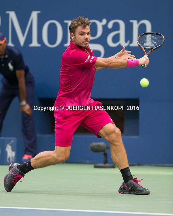 STAN WAWRINKA (SUI)<br /> <br /> Tennis - US Open 2016 - Grand Slam ITF / ATP / WTA -  USTA Billie Jean King National Tennis Center - New York - New York - USA  - 11 September 2016.