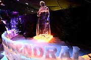 Het IJsbeelden Festival presenteert '200 jaar Koninkrijk der Nederlanden', een vorstelijke geschiedenis in ijs en sneeuw.<br /> <br /> Op de foto: IJssculptuur van Willem van Oranje