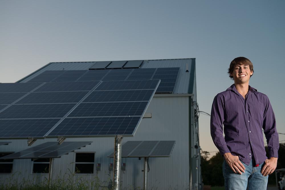 Austin Way HTC Honors Tutorial College Solar Cells Compost Facility Third Sun Solar