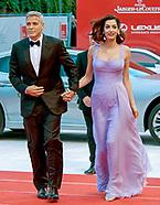 George & Amal Clooney - Venice Film Fest