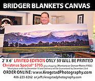 Bridger Blankets   ***Limited Edition***