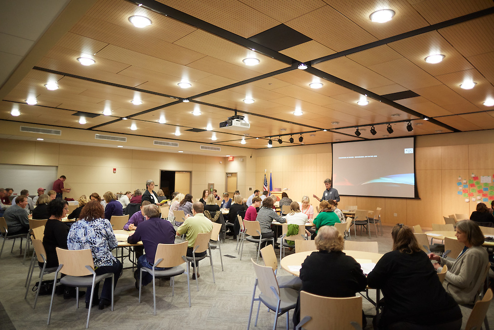 Buildings; Centennial; People; Staff; Type of Photography; Candid; UWL UW-L UW-La Crosse University of Wisconsin-La Crosse; Celebration of Classified Staff