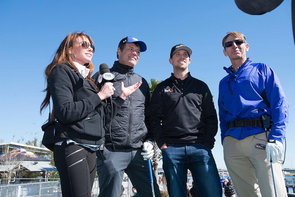 Fox Sports Shot for Charity at Daytona International Speedway.