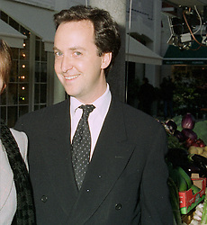 MR DAVID LOEWI development director of Conran Restaurants,  at a party in London on 13th May 1997.LYG 45 MO