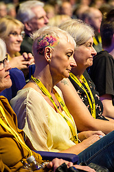 Pictured: All conferences attract colourful characters<br /> The members of the SNP gathered in the Scottish Events Centre in Glasgow for their annual conference.<br /> <br /> The Ger Harley | EEm 9 October 2017