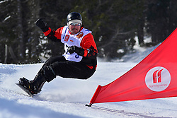 Europa Cup Finals Banked Slalom, MASSIE Alex, CAN at the 2016 IPC Snowboard Europa Cup Finals and World Cup