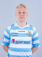 FODBOLD: Mads Aaquist ved FC Helsingør's officielle fotosession den 1. marts 2017 i Helsingør Idrætspark. Foto: Claus Birch