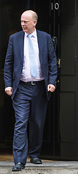 Downing Street, London, October 11th 2016. Government ministers leave the first post-conference cabinet meeting. PICTURED: Transport Secretary Chris Grayling