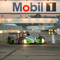 Sebring, FL - Mar 19, 2015:  The BAR1 Motorsports Oreca FLM09 Chevrolet races through the turns 12 Hours of Sebring at Sebring Raceway in Sebring, FL.