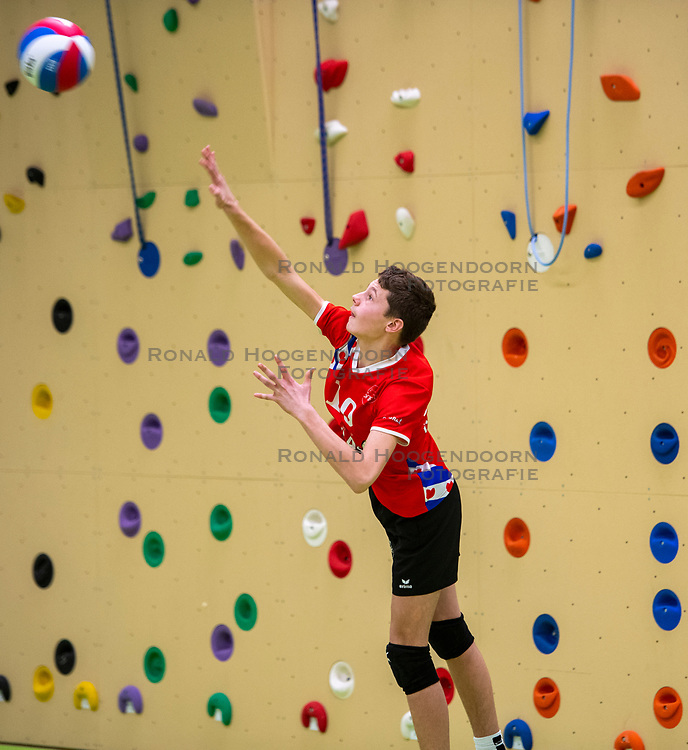 31-03-2019 NED: Final A Volleybaldirect Open, Koog aan de Zaan<br /> 16 teams of girls and boys D competed for the Dutch Open Championship / Sneek